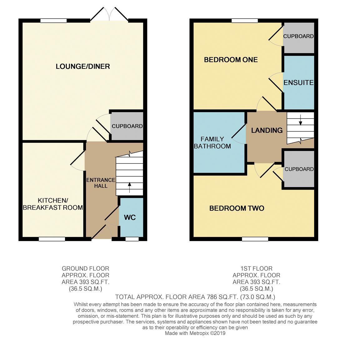 Floorplans For Hawthorn Avenue, Mawsley Village