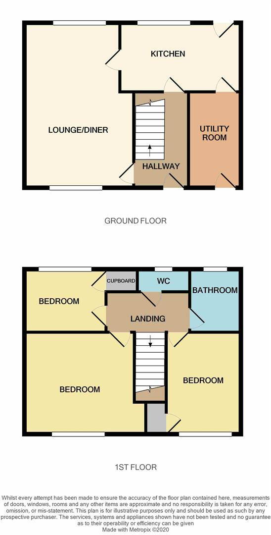 Floorplans For Swale Drive, Kings Heath