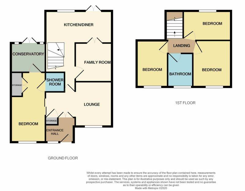 Floorplans For 24 Arnsby Crescent, Moulton, NORTHAMPTON
