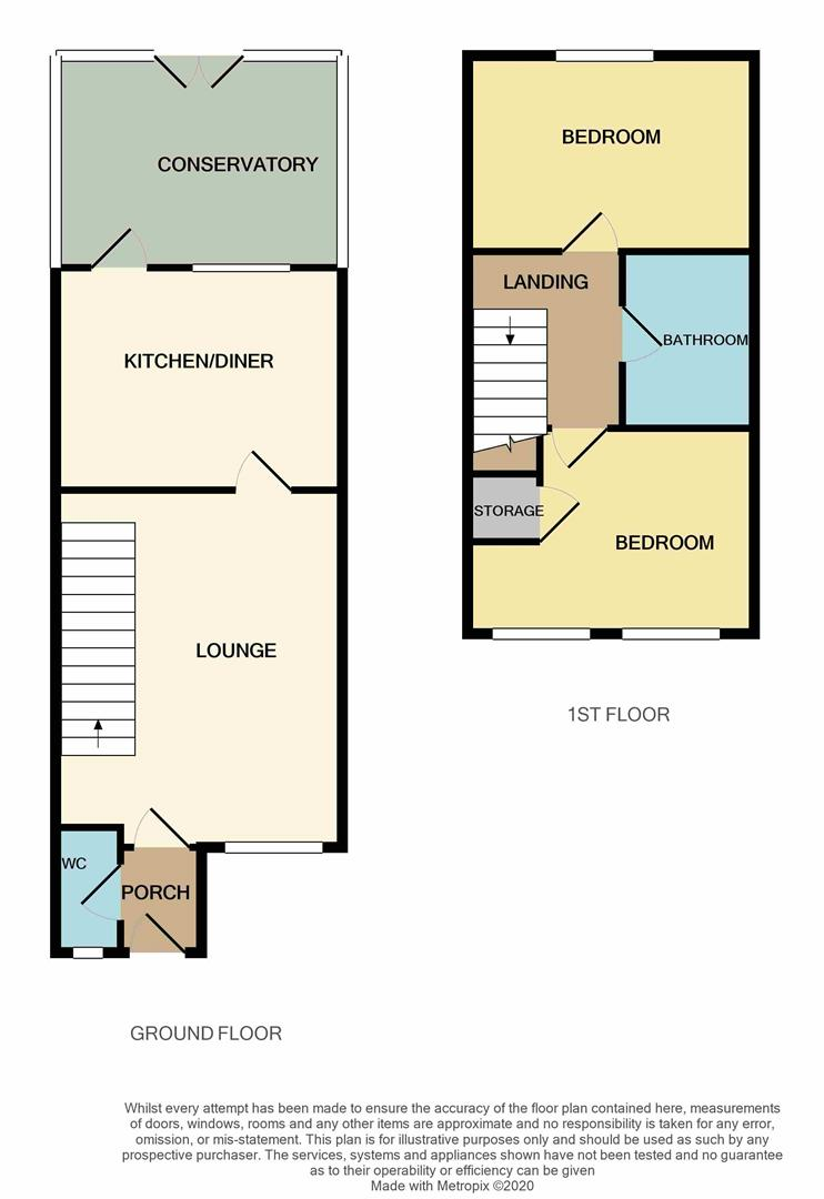 Floorplans For Butterfields, WELLINGBOROUGH