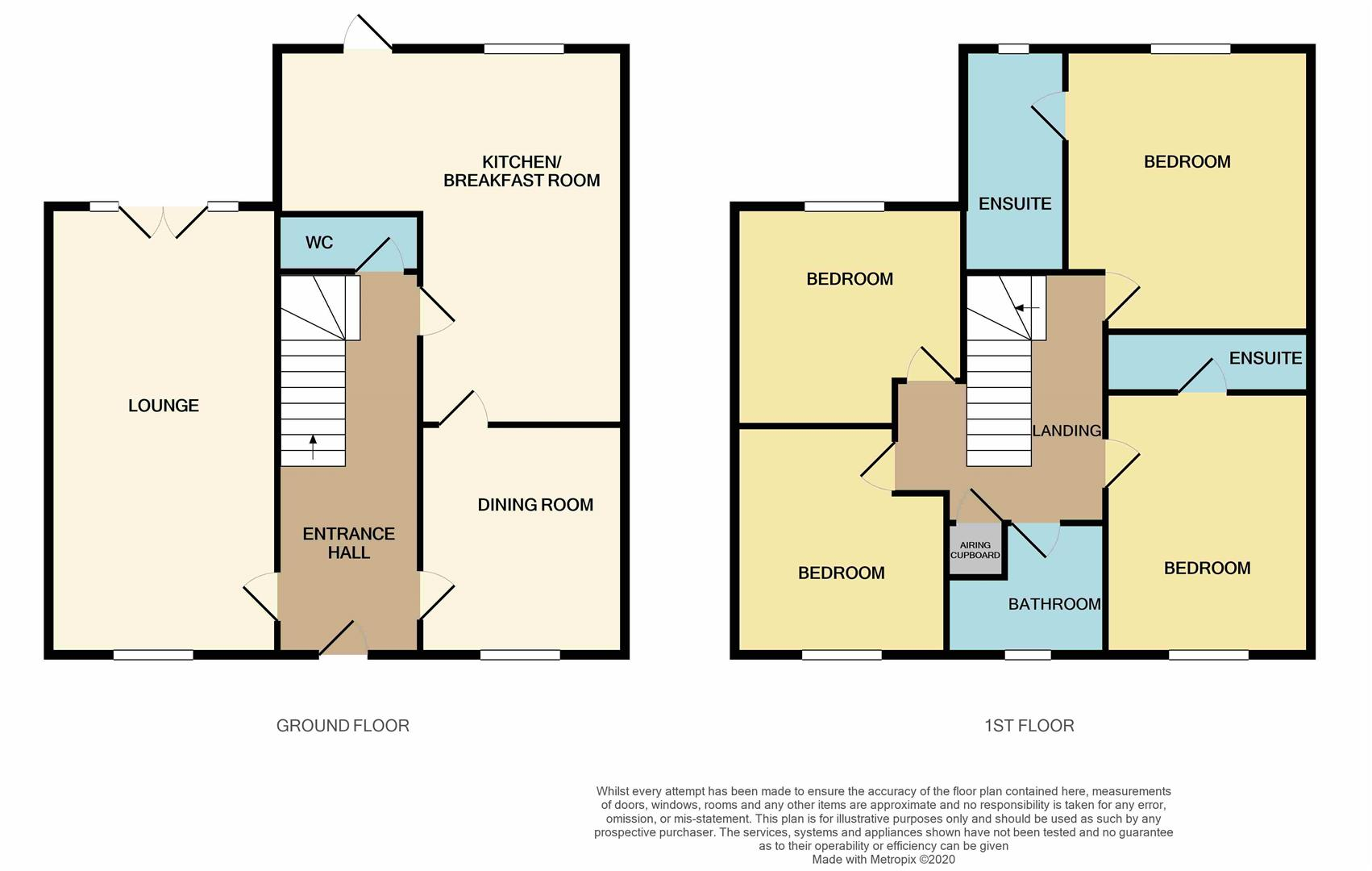 Floorplans For 3 Legion Close, Roade, NORTHAMPTON