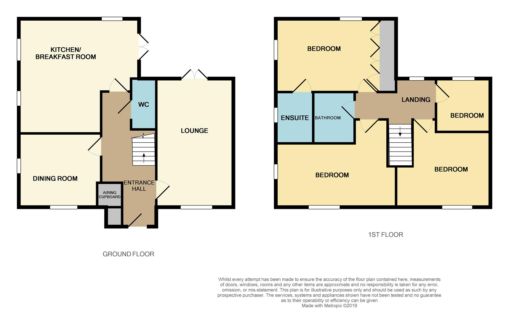 Floorplans For Blackthorn Crescent, Brixworth, NORTHAMPTON