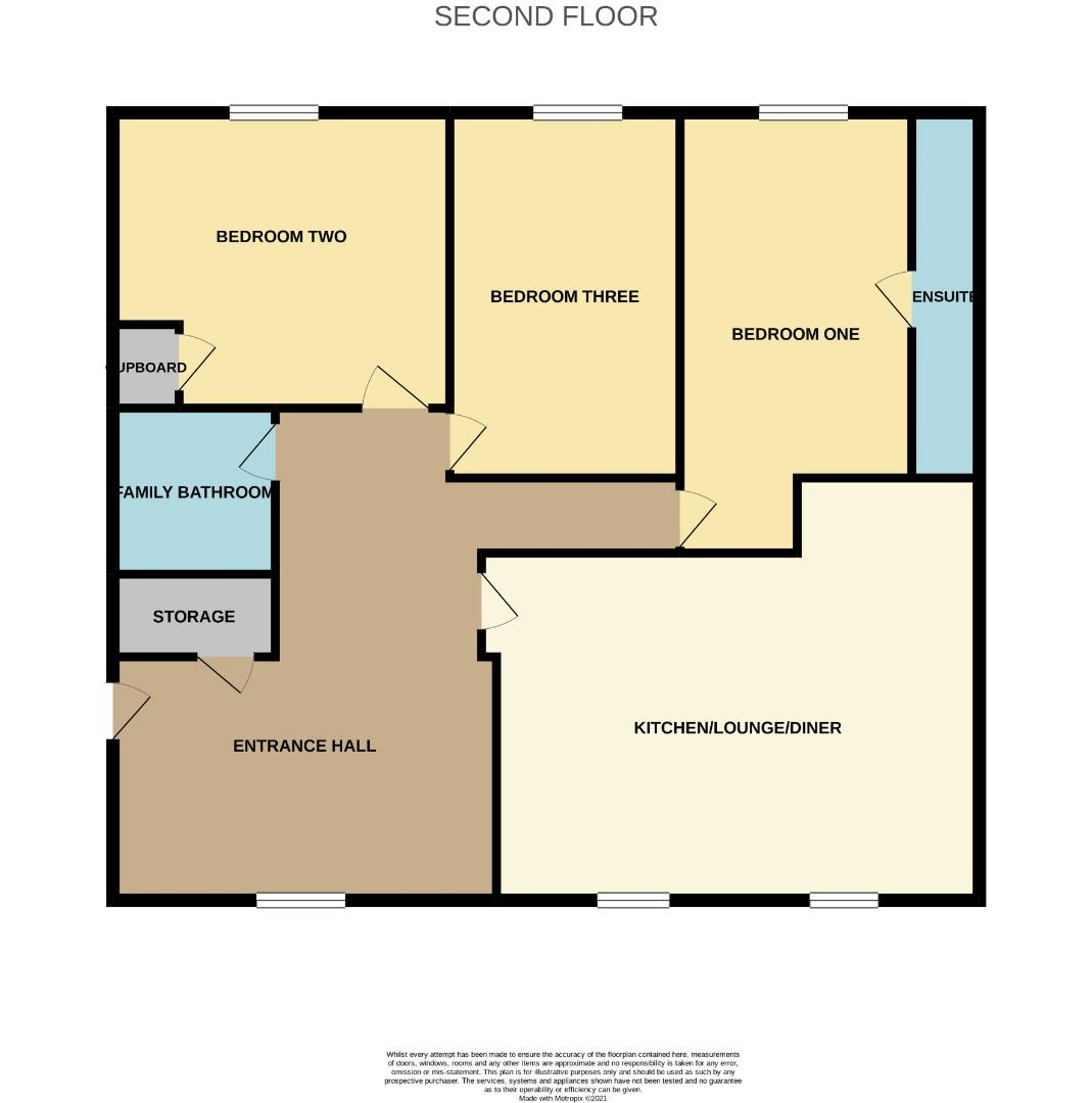 Floorplans For Barnwell Court, Mawsley Village