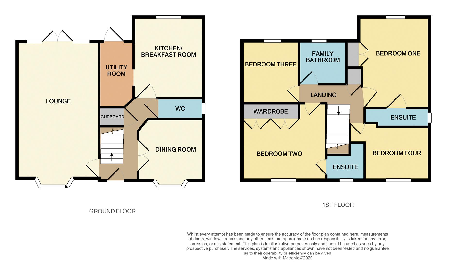 Floorplans For Padmans Close, Mawsley Village, KETTERING