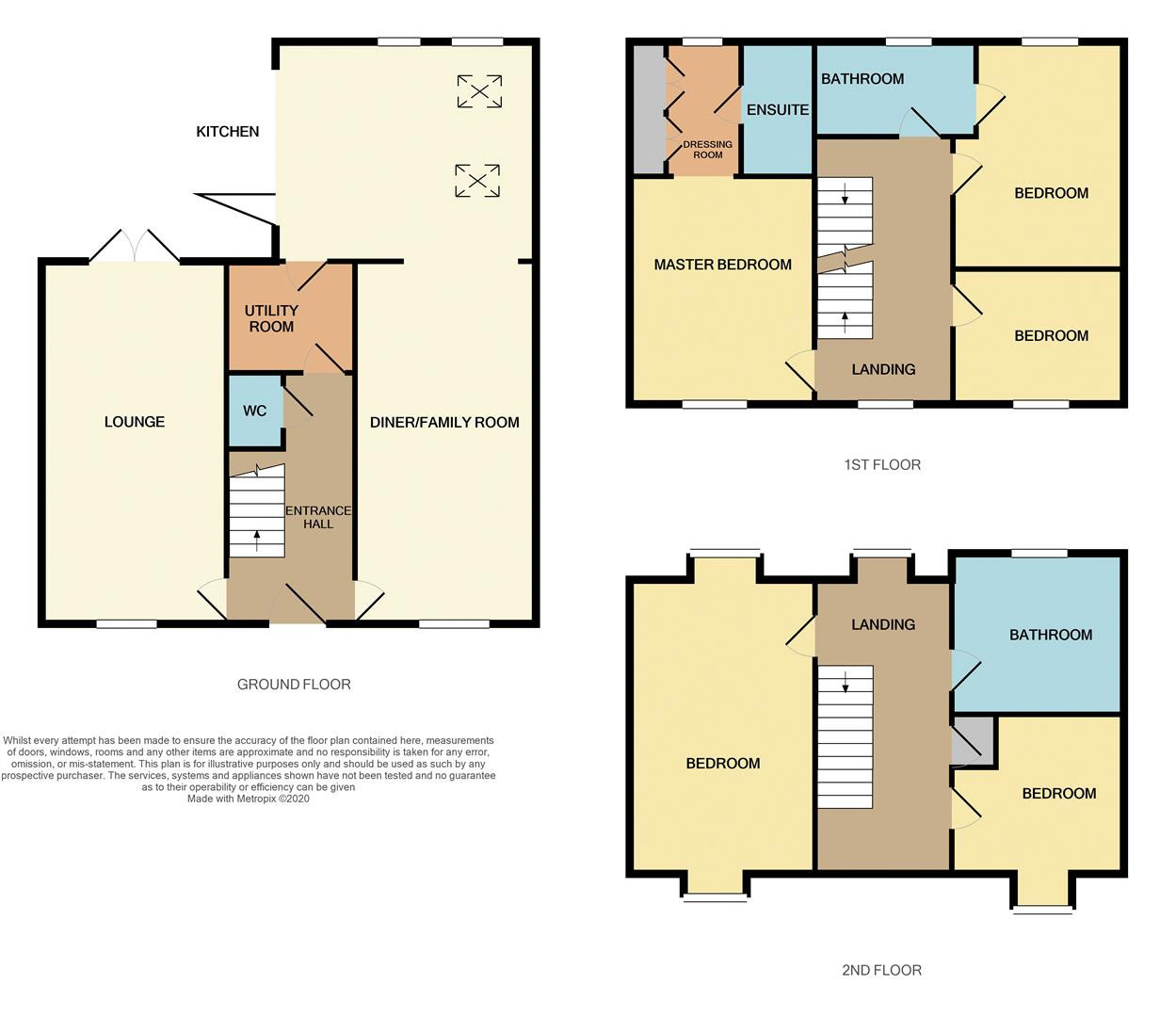 Floorplans For Jibwood, Mawsley Village