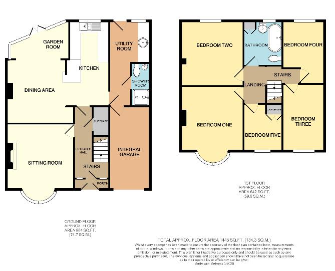 Floorplans For Southfield Road, Duston, NORTHAMPTON