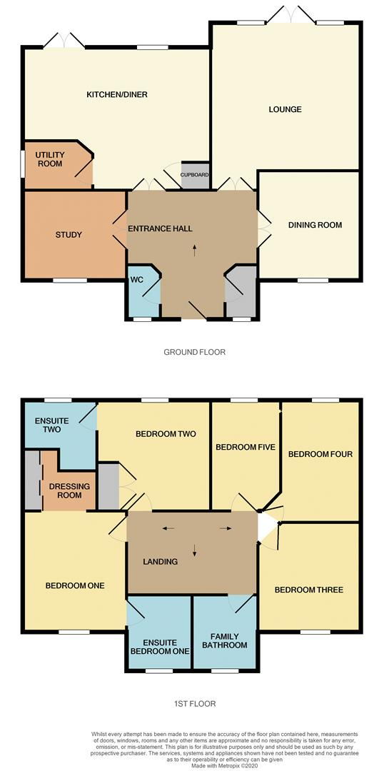 Floorplans For Loddington Way, Mawsley Village, Kettering