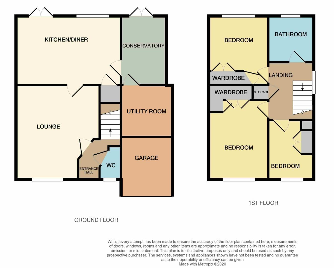 Floorplans For Shelleycotes Road, Brixworth