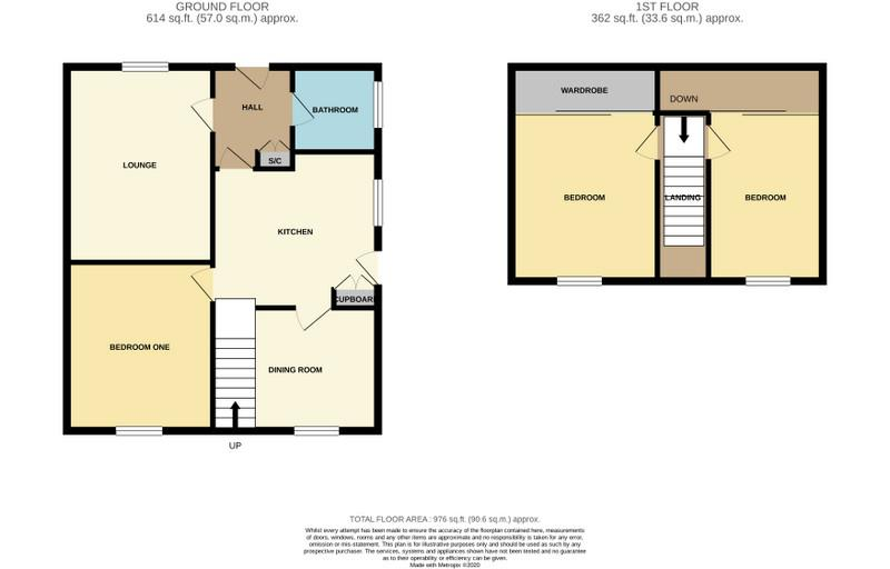 Floorplans For Clipston Way, NORTHAMPTON