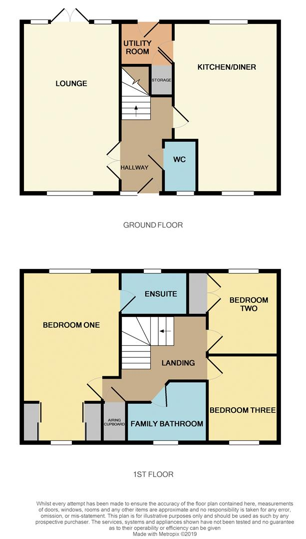 Floorplans For Long Breech, Mawsley Village
