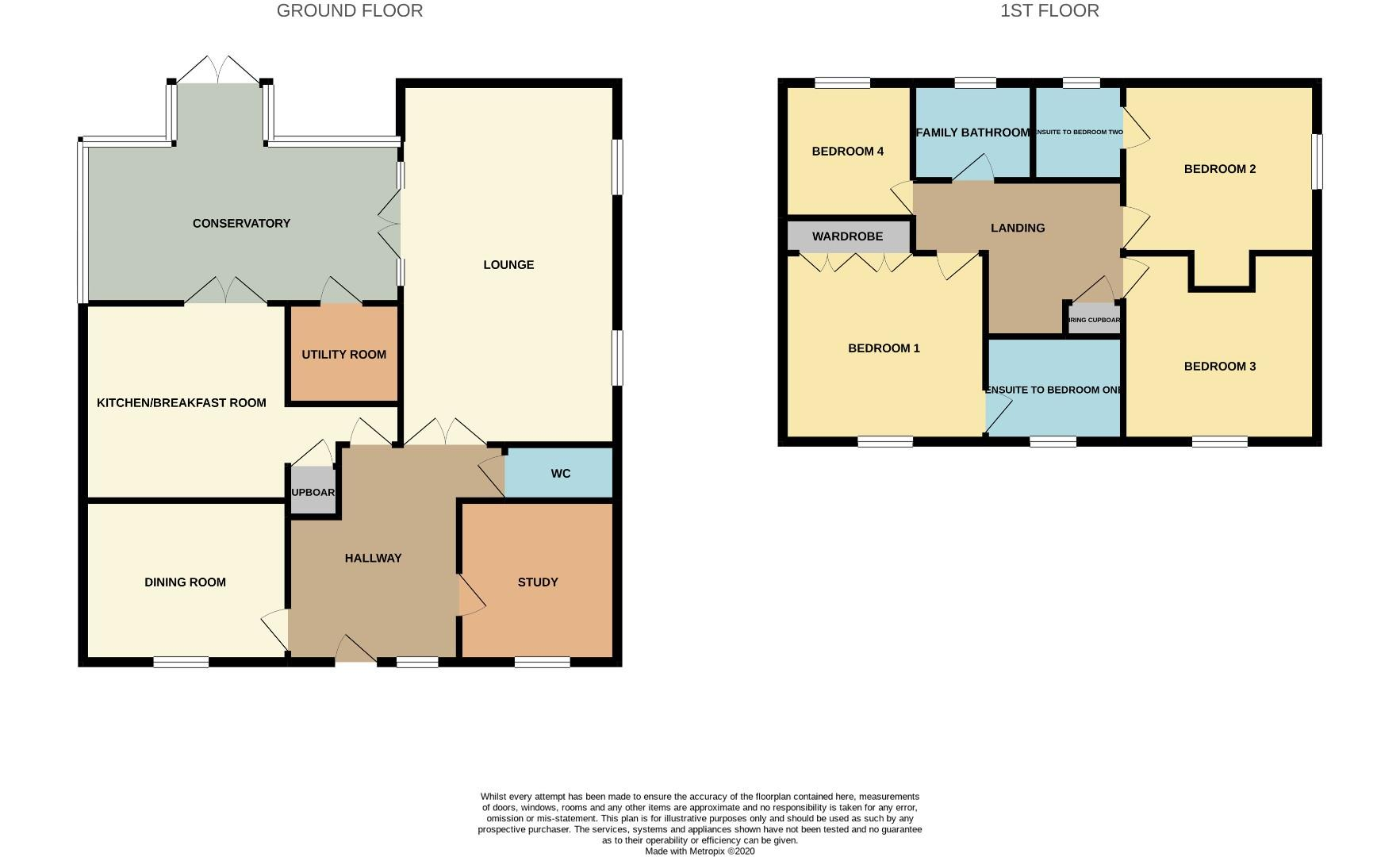 Floorplans For The Jitty, Mawsley, Kettering