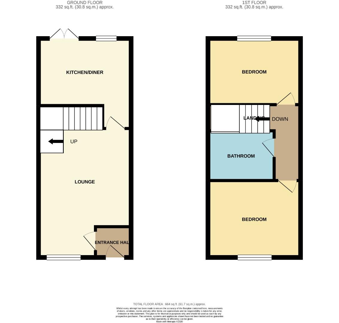 Floorplans For The Knoll, BRIXWORTH