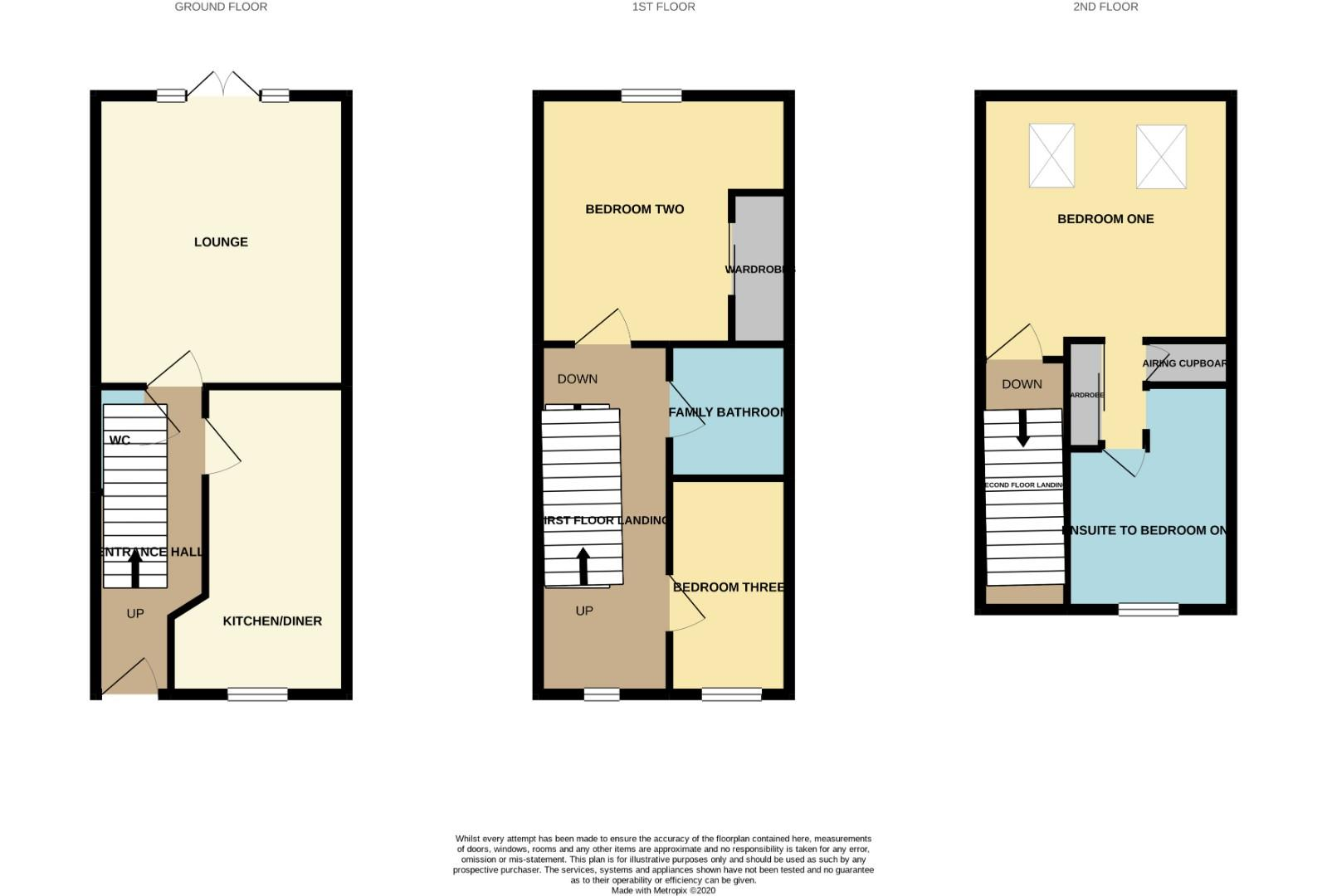 Floorplans For Rose Hill Way, Mawsley Village