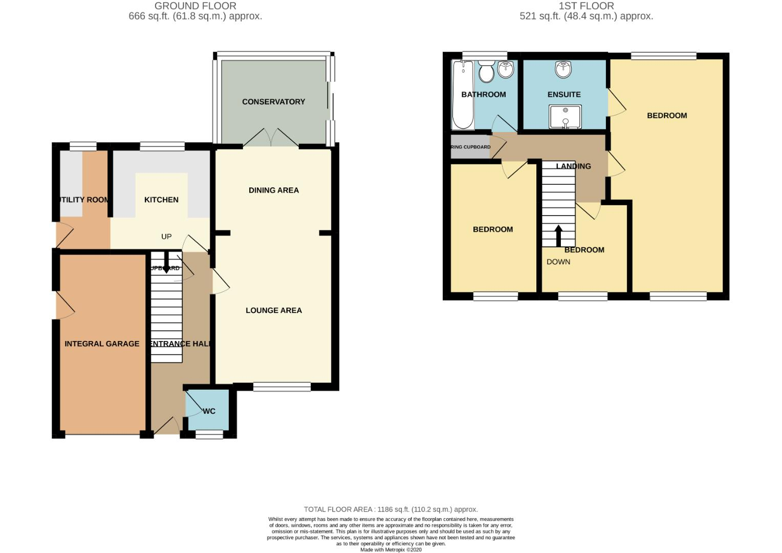 Floorplans For Heather Lane, Northampton