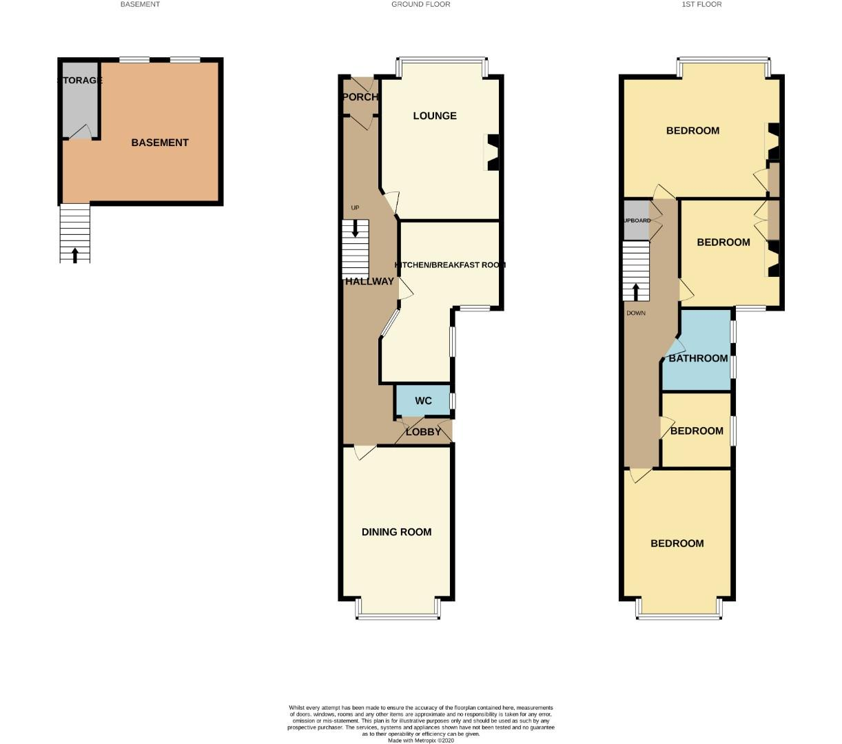 Floorplans For Birchfield Road, Northampton