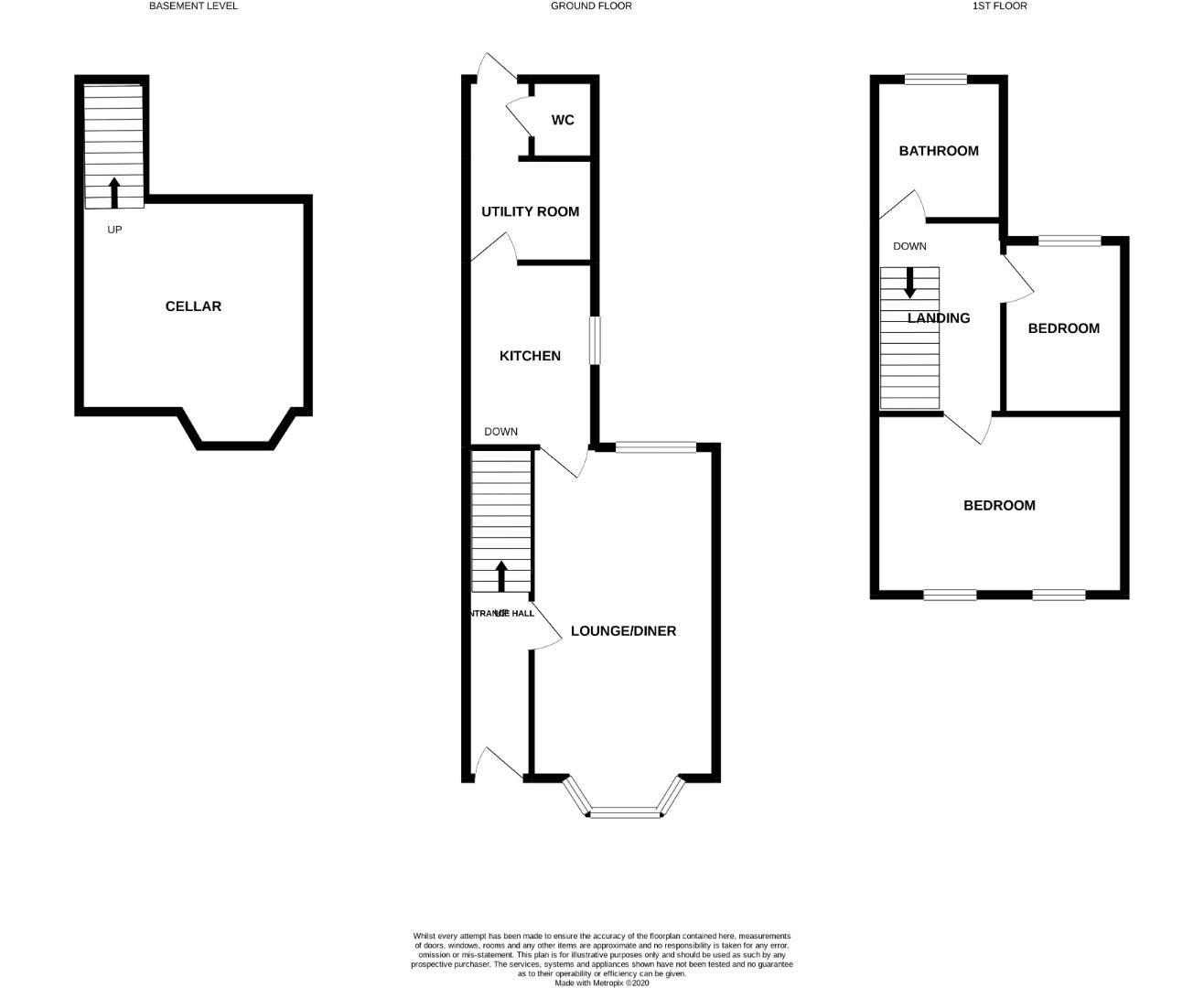 Floorplans For Whitworth Road, Northampton