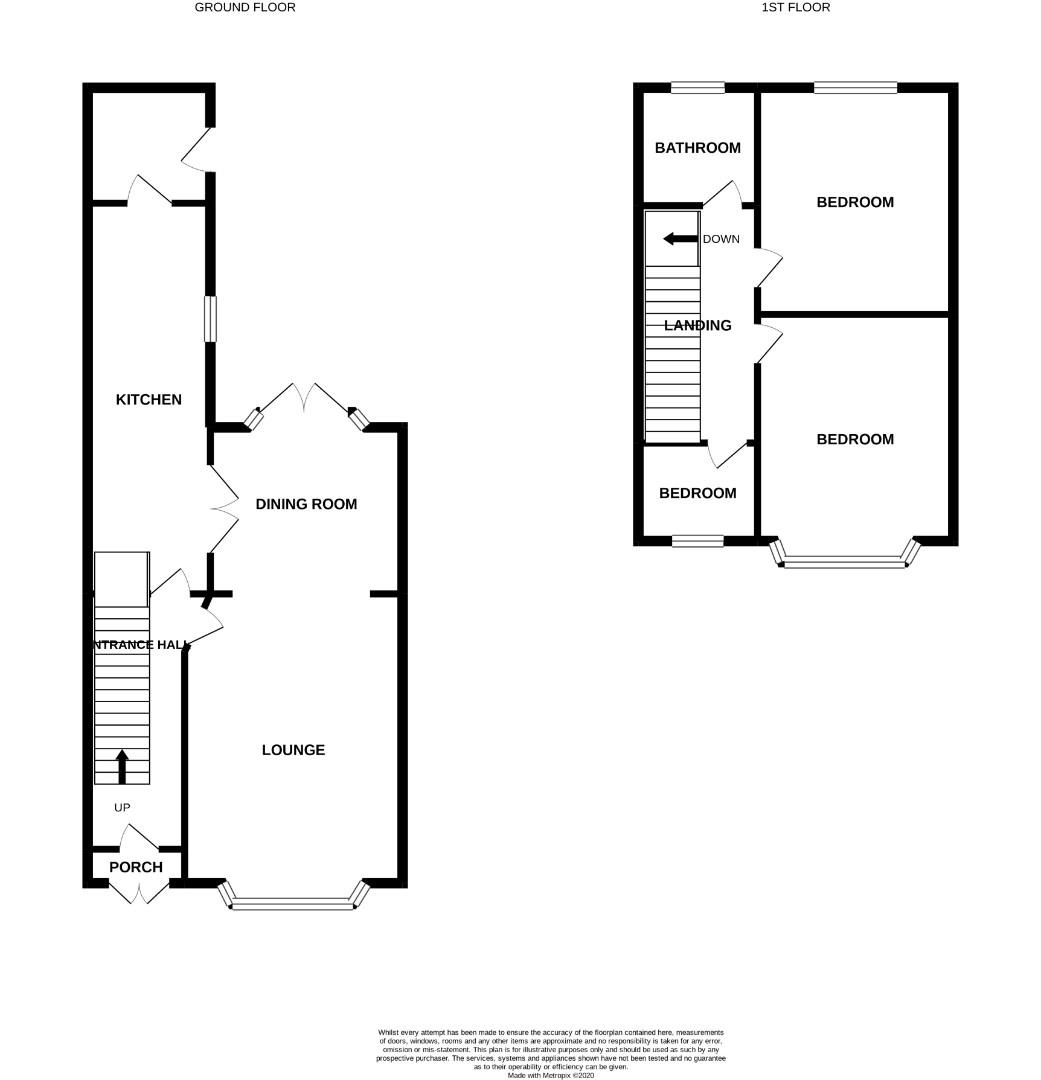 Floorplans For Penrhyn Road, Northampton