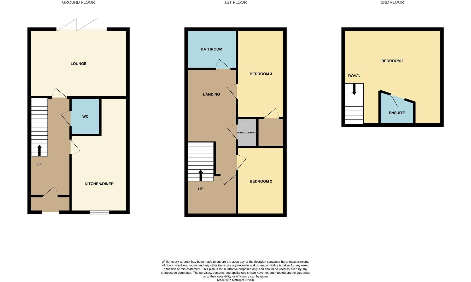 Floorplans For Ardington Road, Northampton