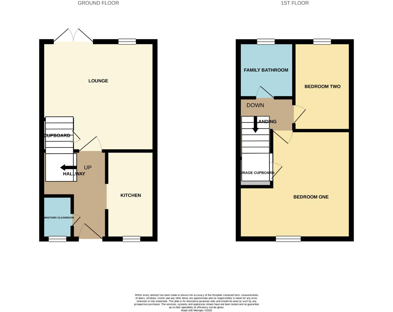 Floorplans For Rose Hill Way, Mawsley, Kettering