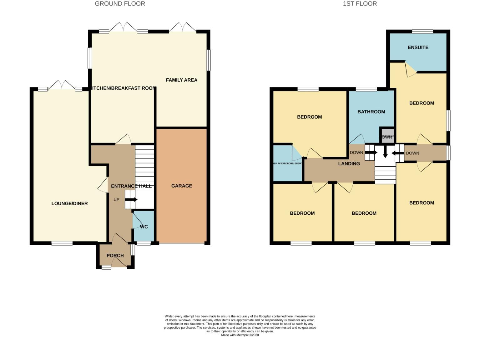 Floorplans For Holcot Road, Brixworth, NORTHAMPTON