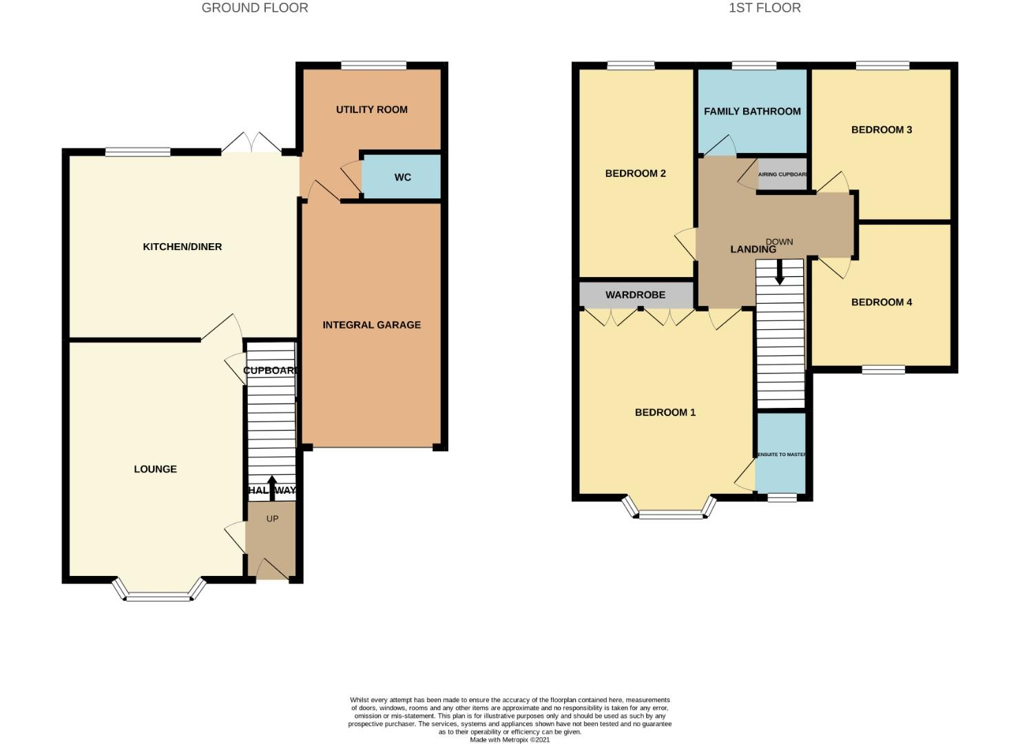 Floorplans For Orton Close, Mawsley Village