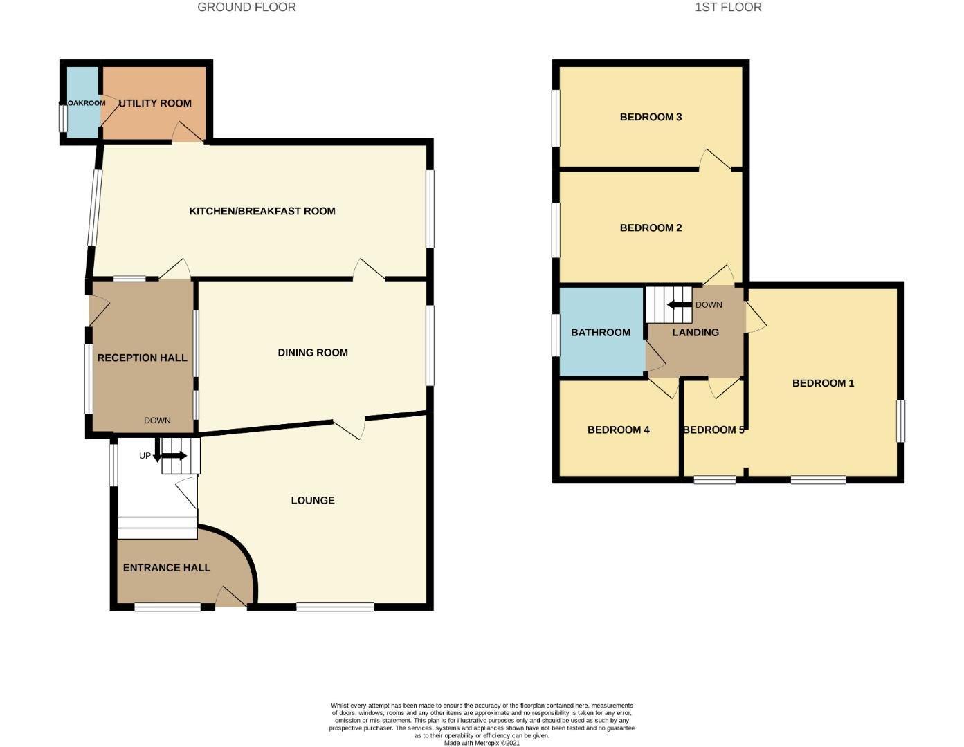 Floorplans For West Street, Moulton, Northampton